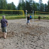 Beachvolley kentät